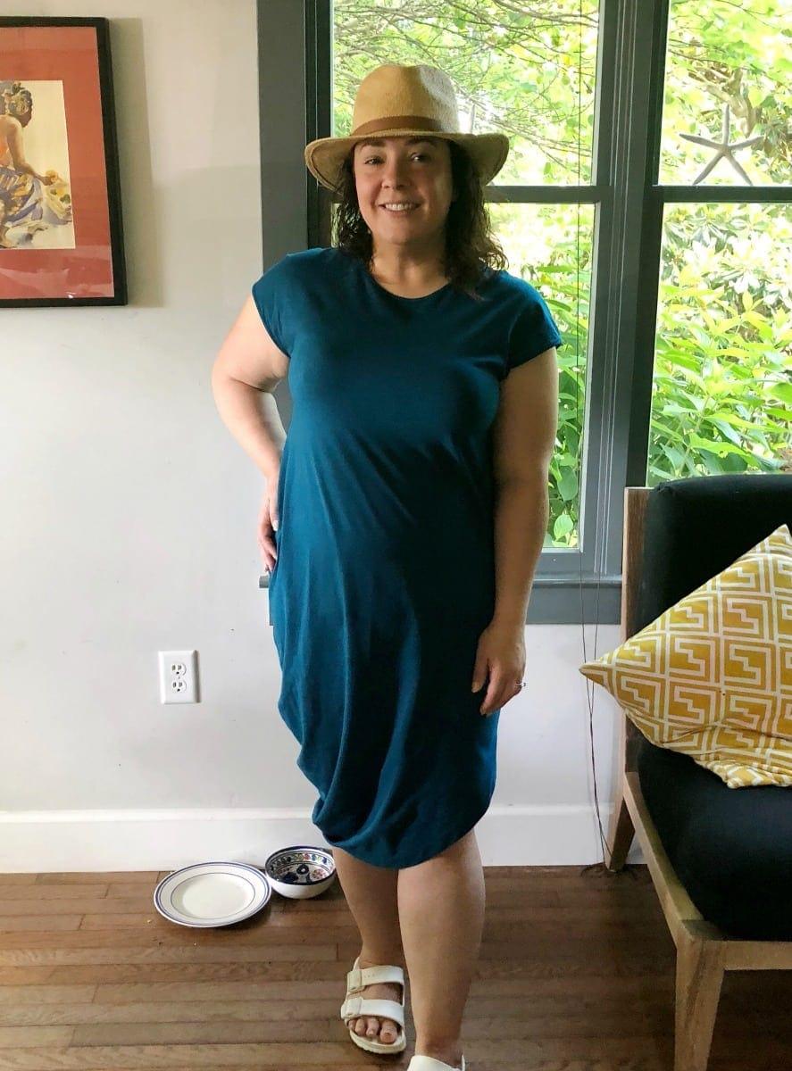 what i wore universal standard geneva dress