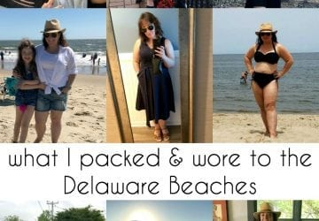 Delaware Beach Trips: What I Packed, What I Wore