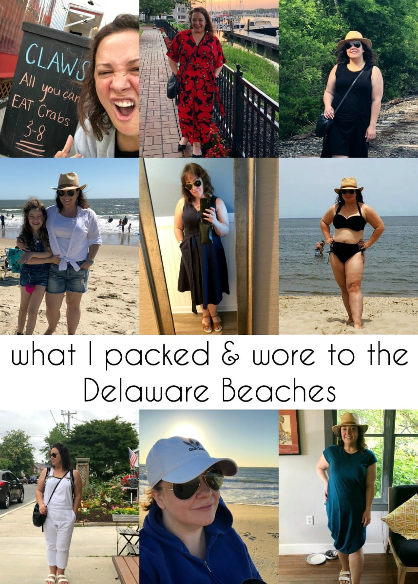 what to pack and what to wear to rehoboth beach or lewes delaware beaches
