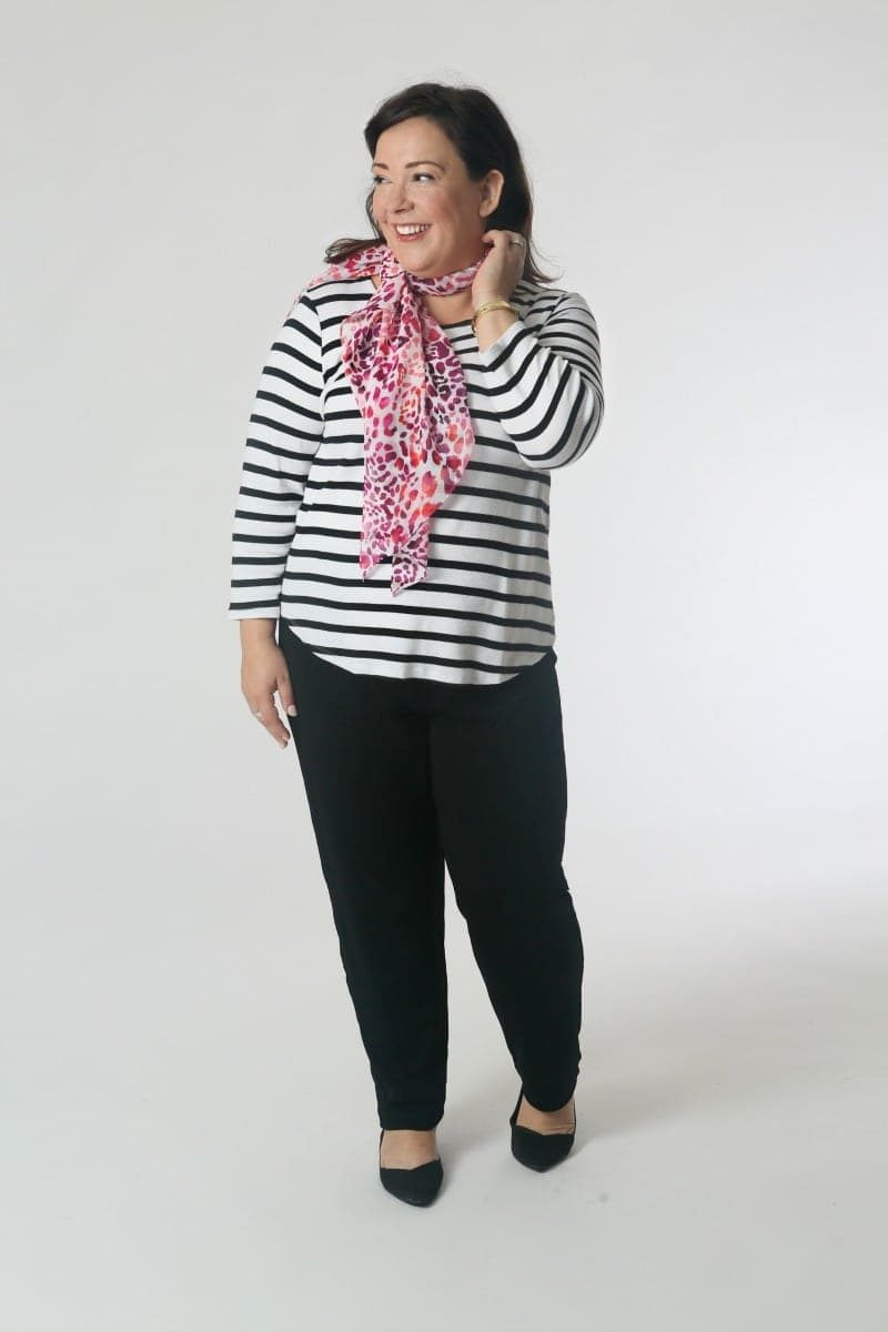 Capsule wardrobe Wardrobe Oxygen makes one from the Chico's Travelers Collection