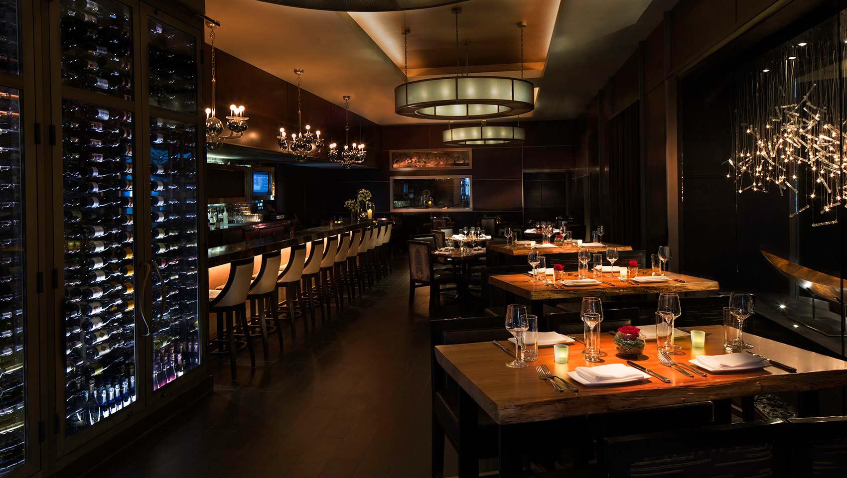 NIOS restaurant Kimpton Muse NYC