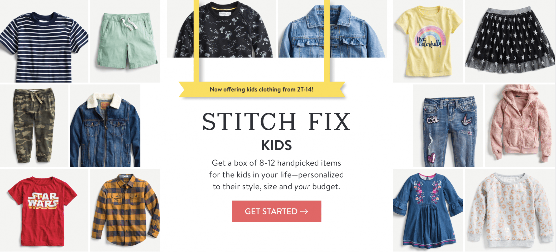 A review of Stitch Fix Kids