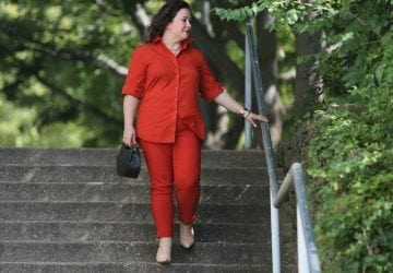What I Wore: Lady in Red