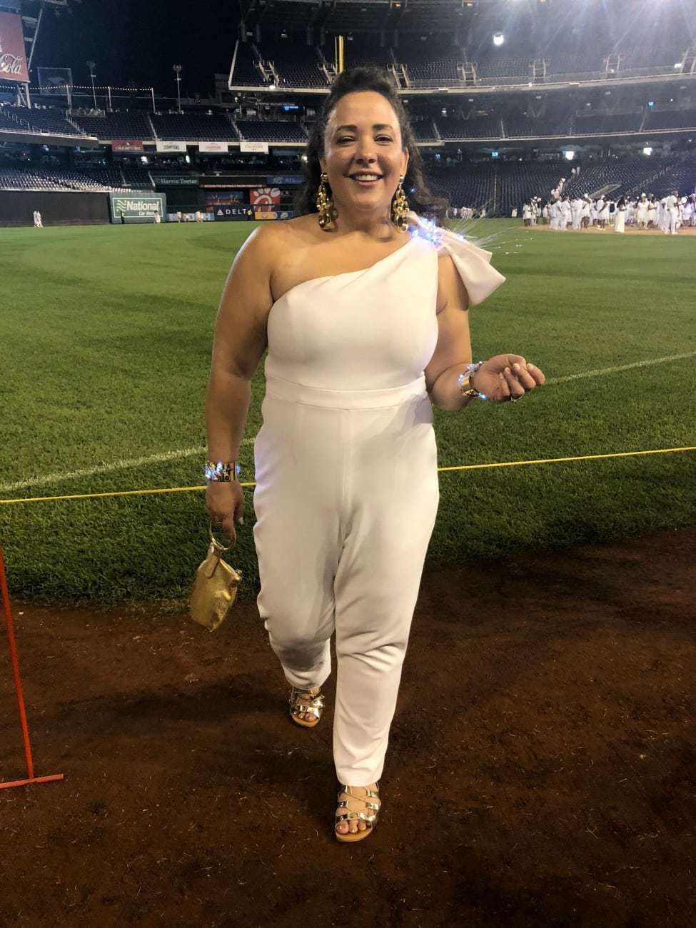 diner en blanc 2018 what I wore Jump suit