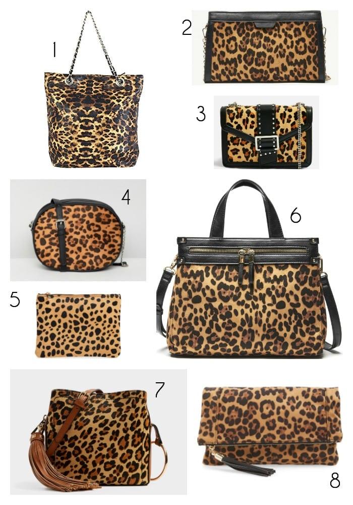 fall bag trends 2018 leopard print