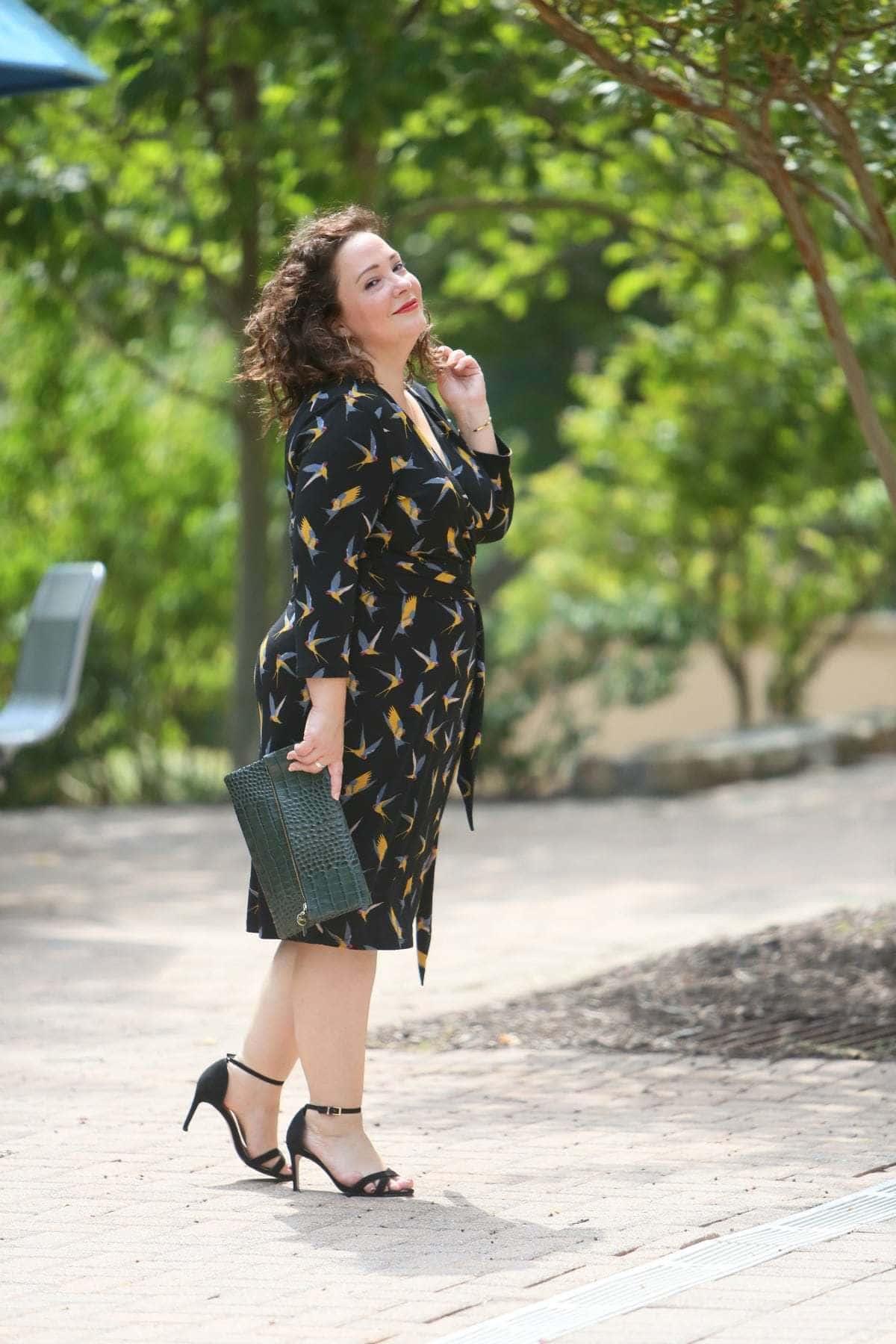 over 40 fashion blogger wardrobe oxygen in gwynnie bee