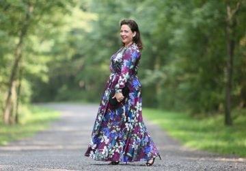 What I Wore: ELOQUII Maxi Dress
