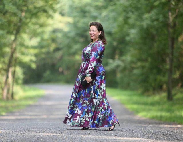What I Wore: ELOQUII Maxi Dress | Wardrobe Oxygen