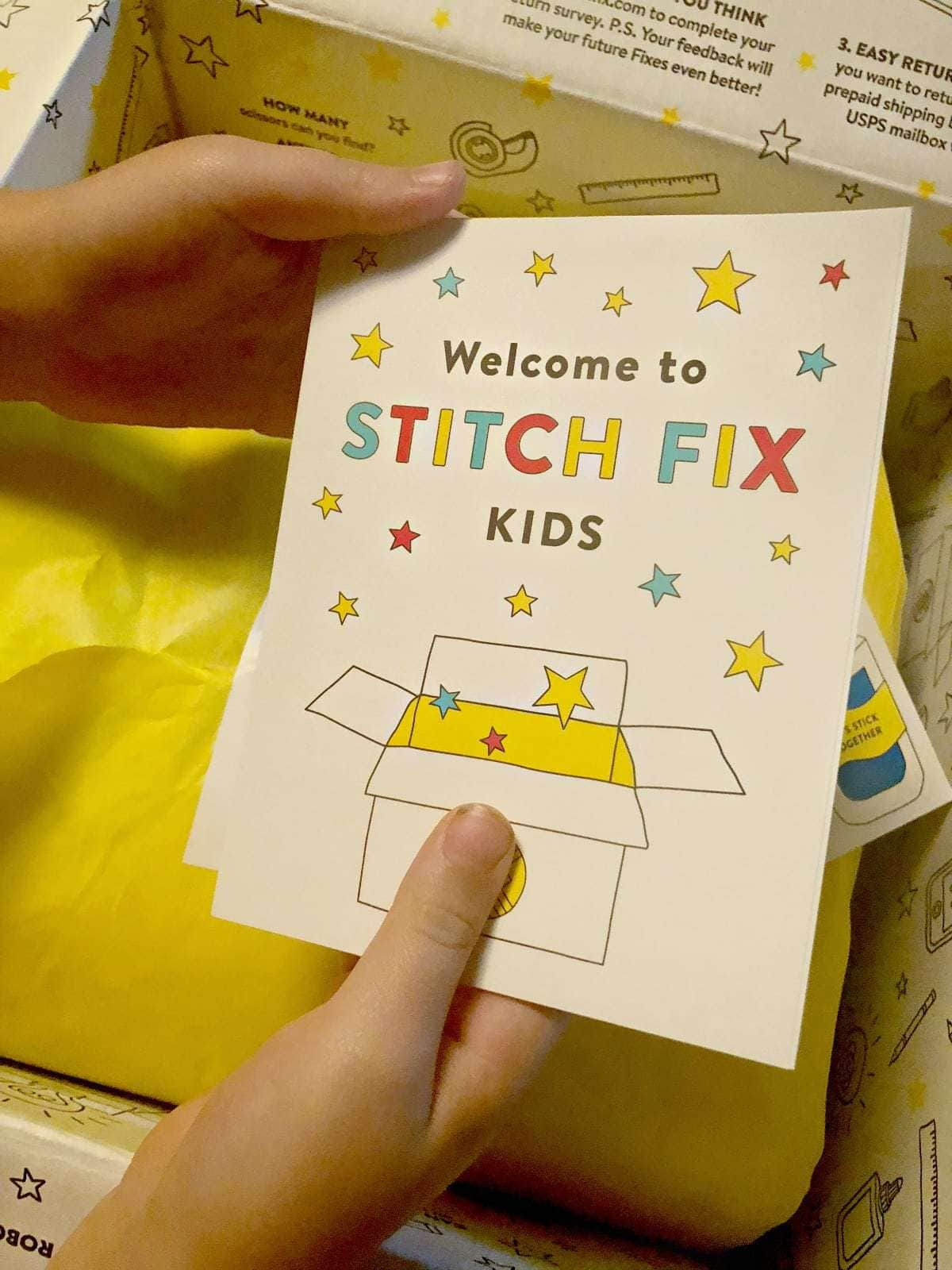 stitchfix kids review