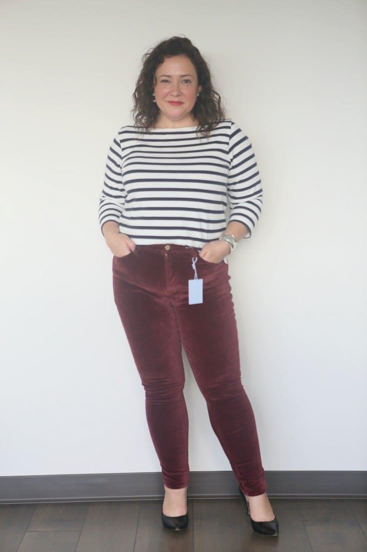 FRAME velveteen jeans