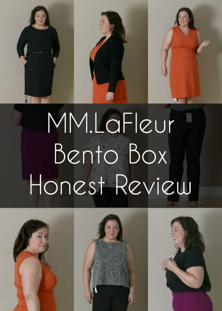 an honest review of an MM.LaFleur Bento Box by size 14 over 40 blogger Wardrobe Oxygen