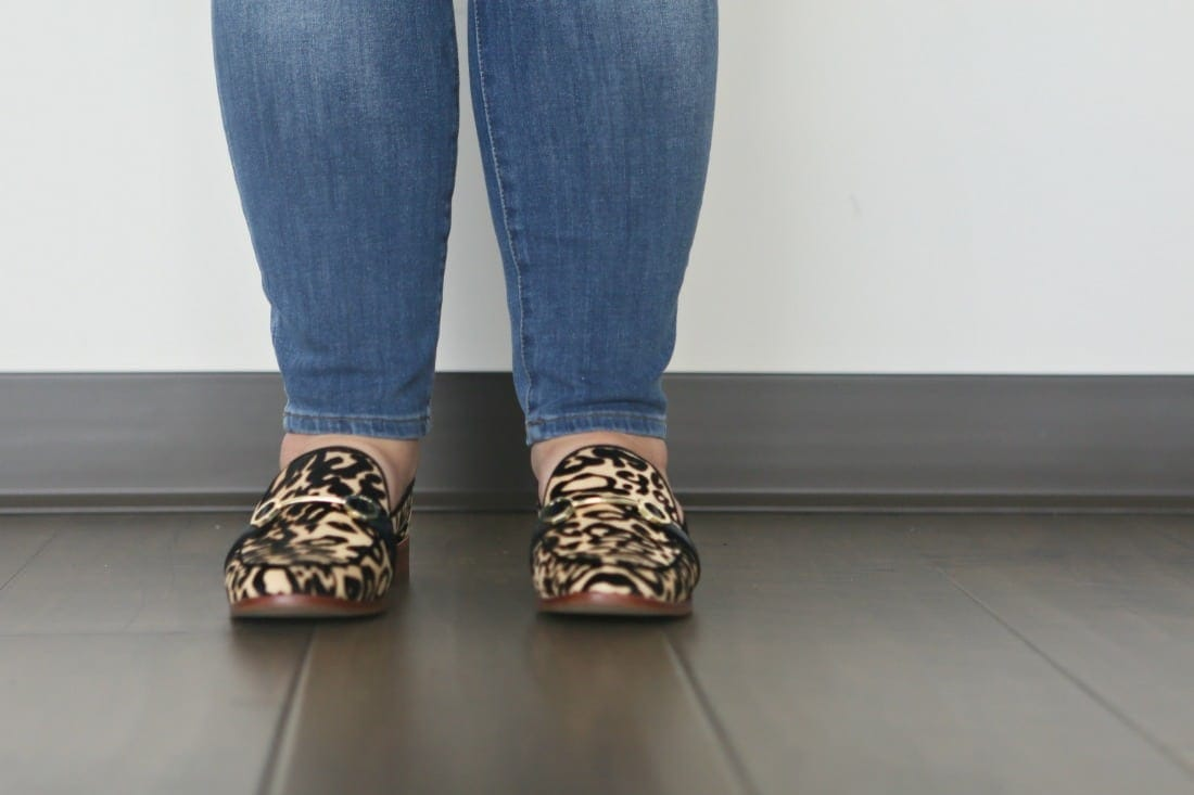 louise et cie leopard loafers