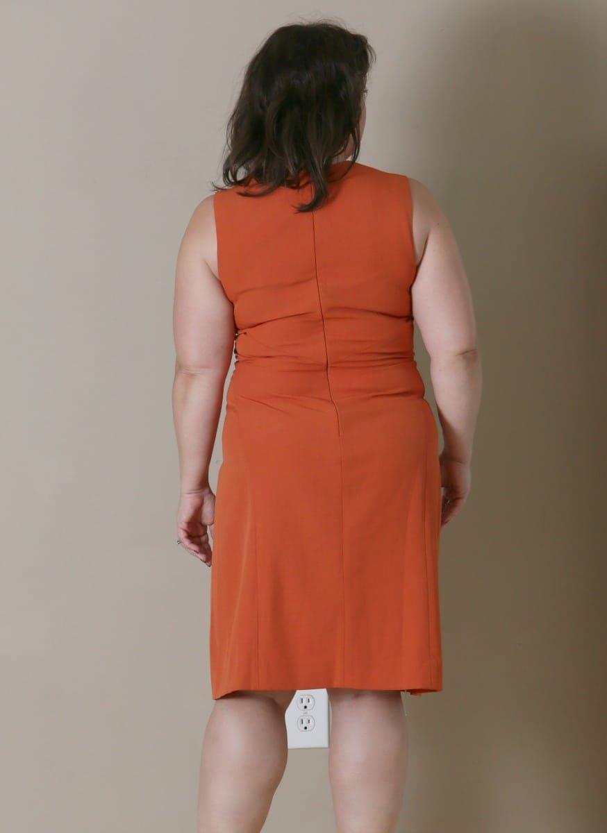 mm lafleur dress back view