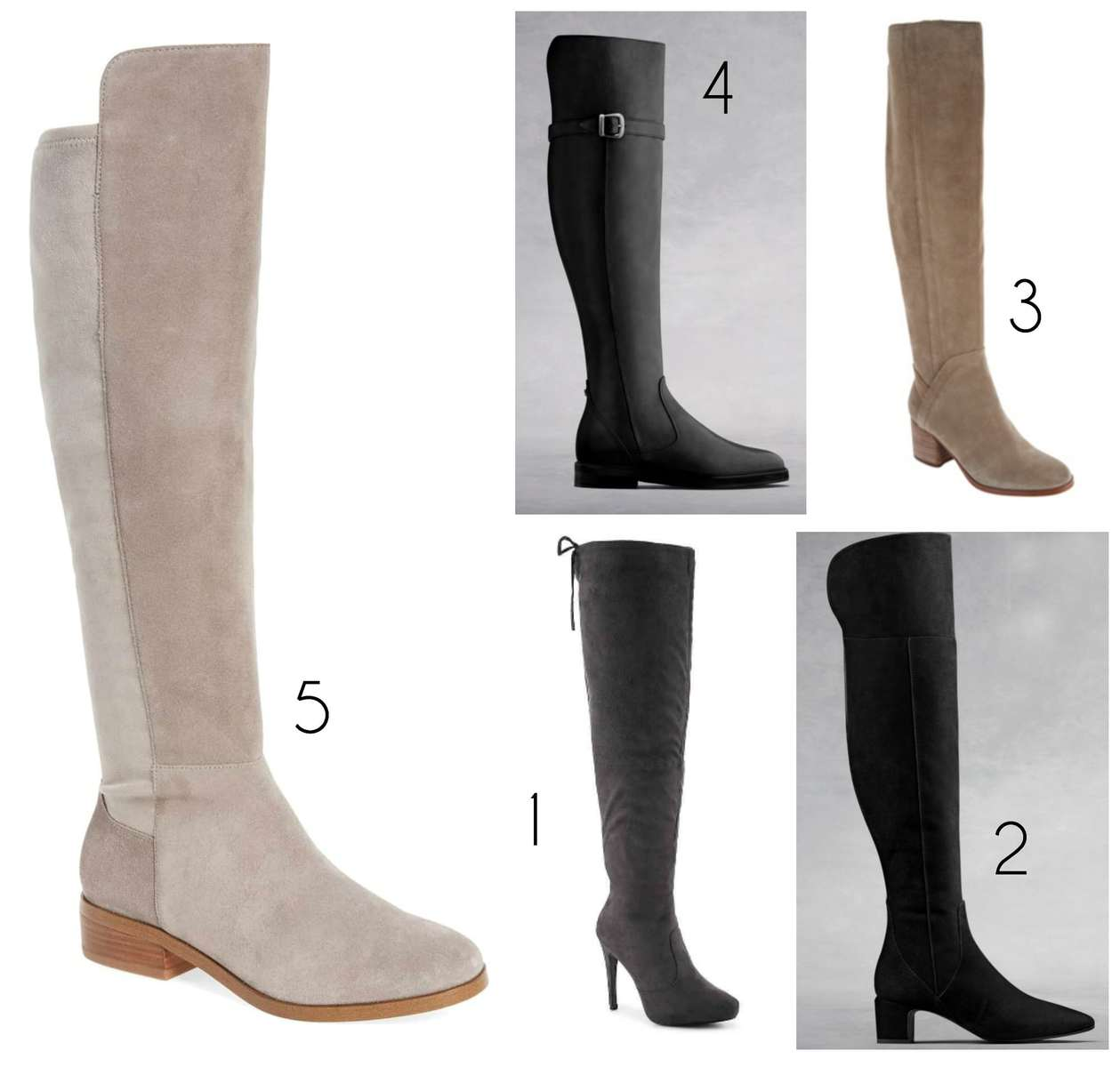 stylish wide calf boots that are over the knee the best over the knee wide calf boots