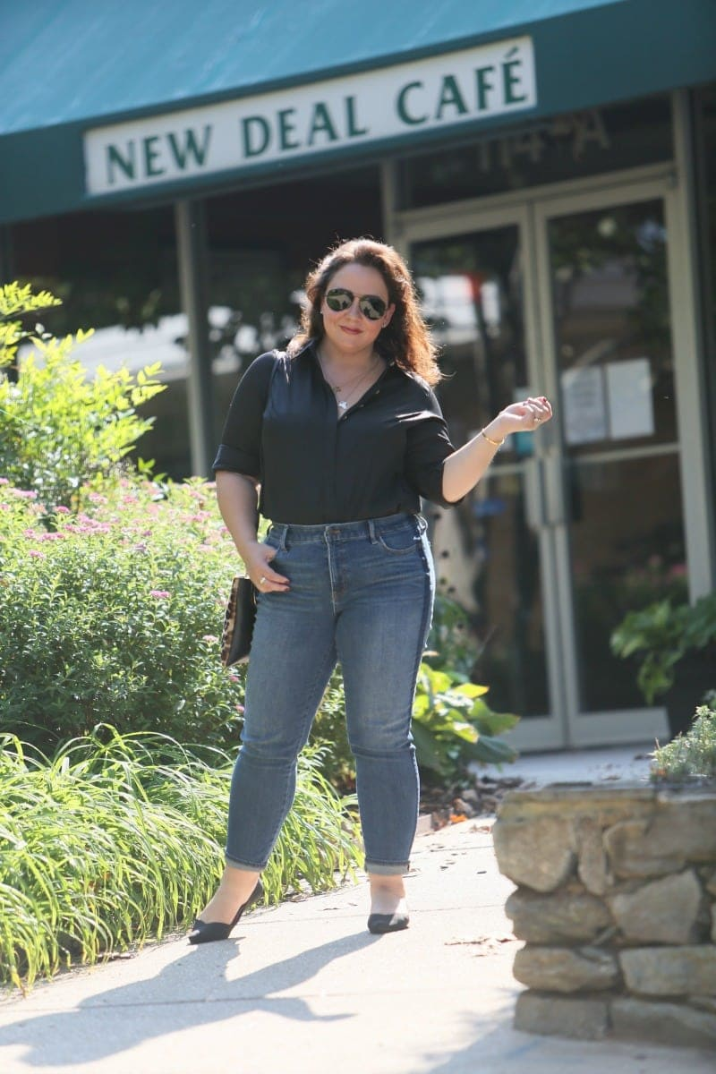 talbots slim ankle jean review