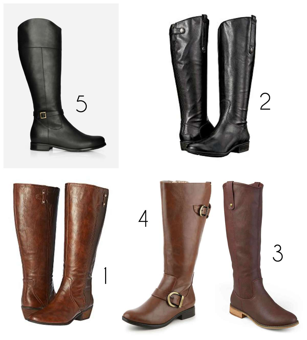 the most stylish wide calf boots the best wide calf riding boots for fall and winter