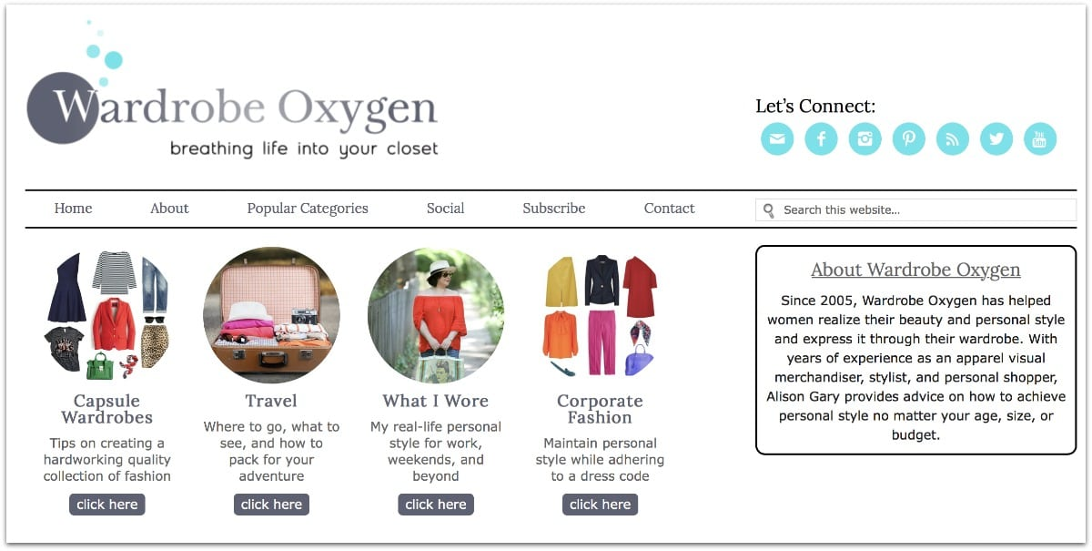 wardrobe oxygen 2016