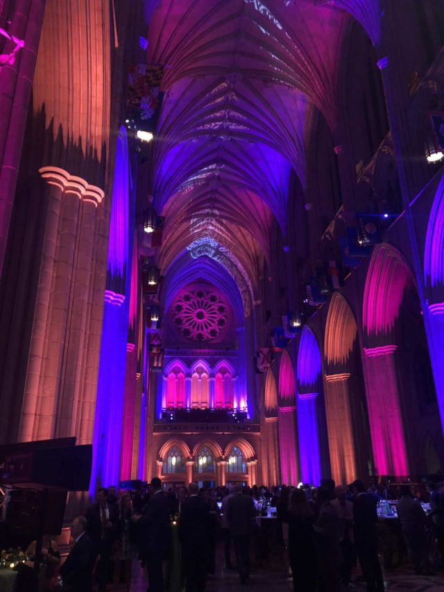 The Fair Chance Butterfly Bash at the Washington National Cathedral 2018