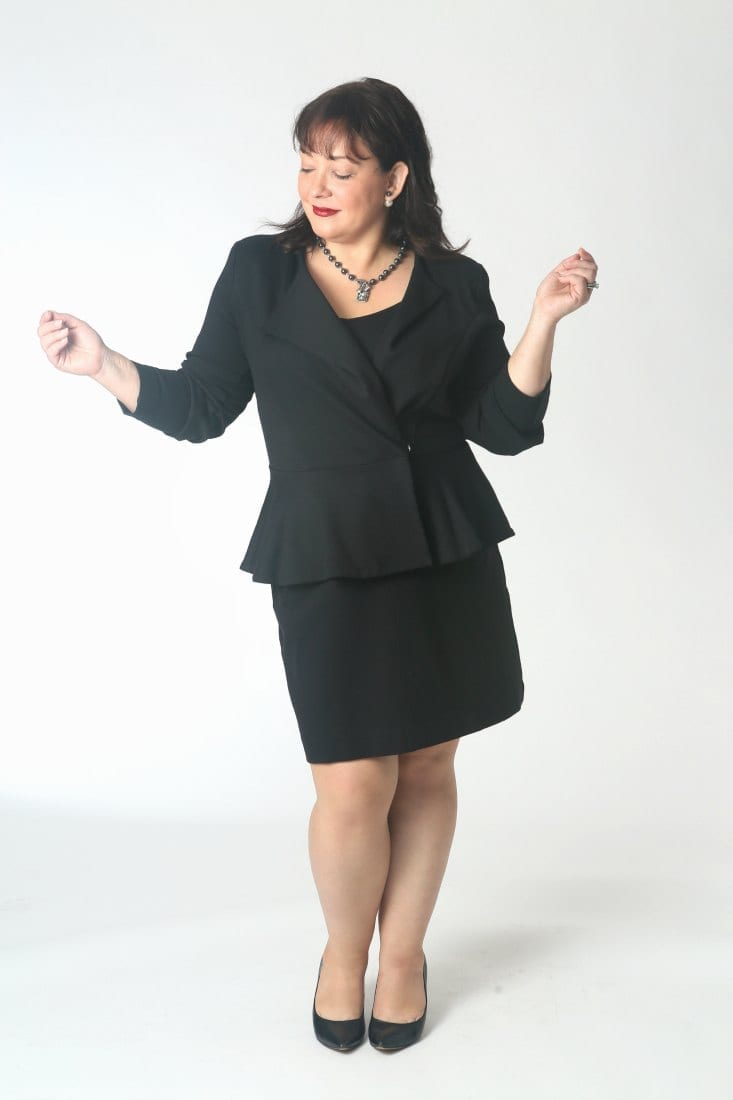 The Perfect Ponte Suit: Super flattering and versatile, this jacket is great with skirts and pants