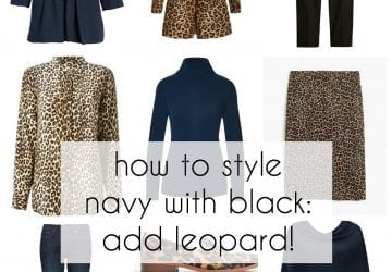 The Oxygen Edit: Navy and Black with Leopard