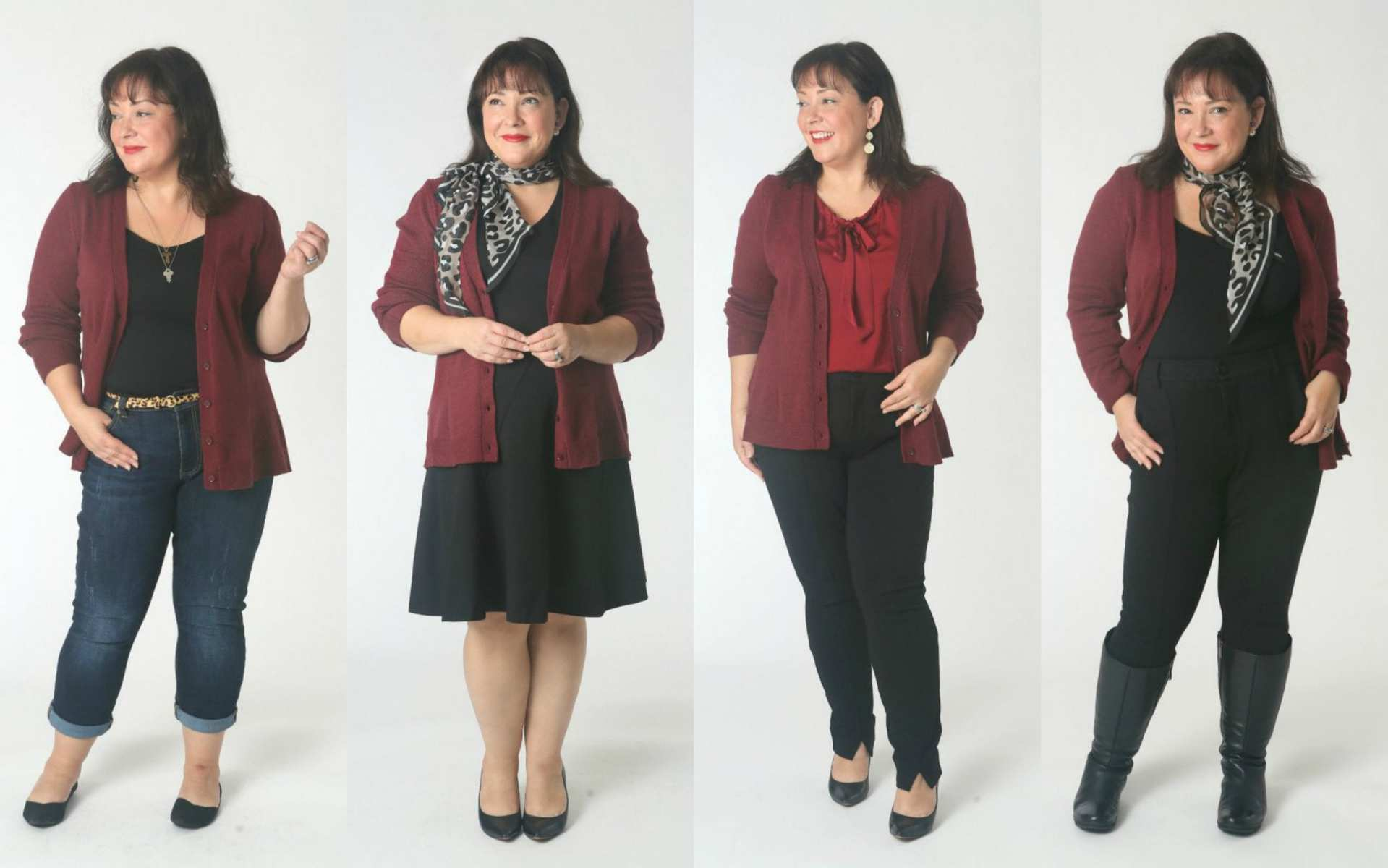 how to style the cabi catch cardigan