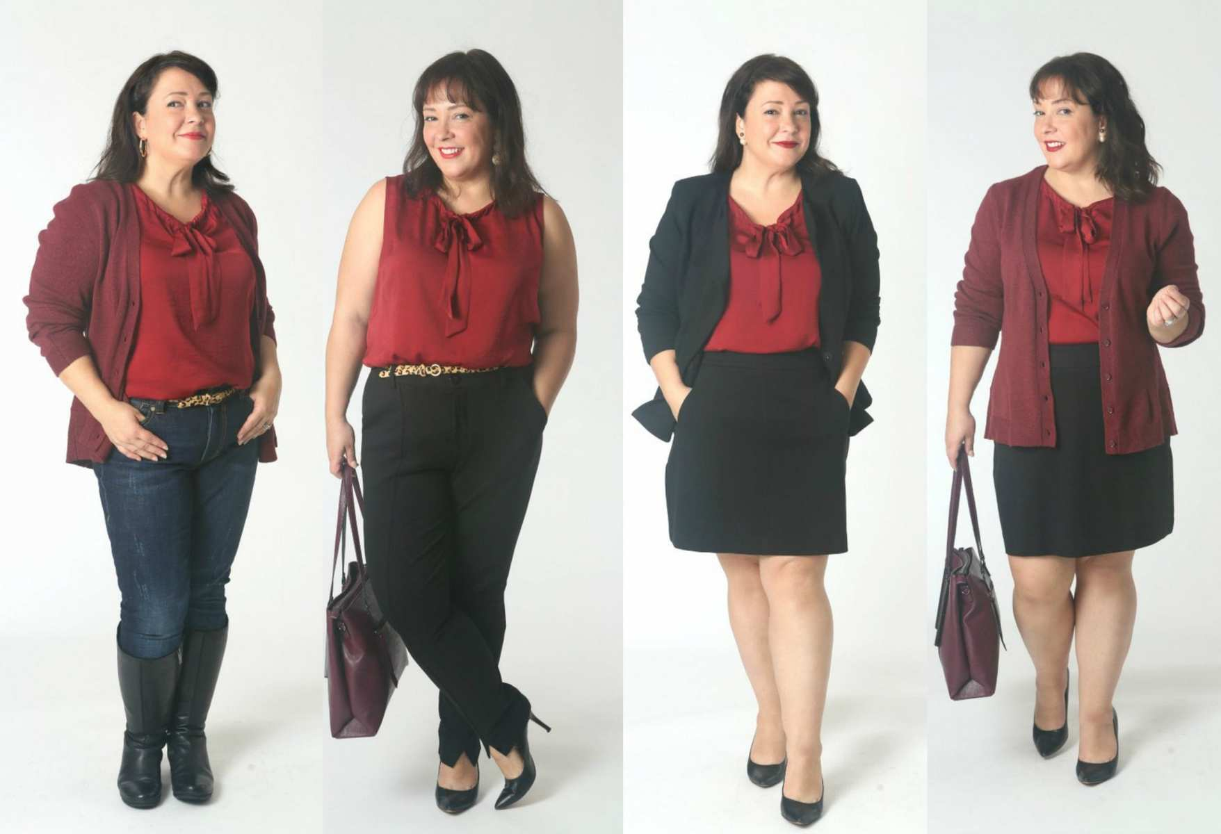 how to style the cabi cinch blouse