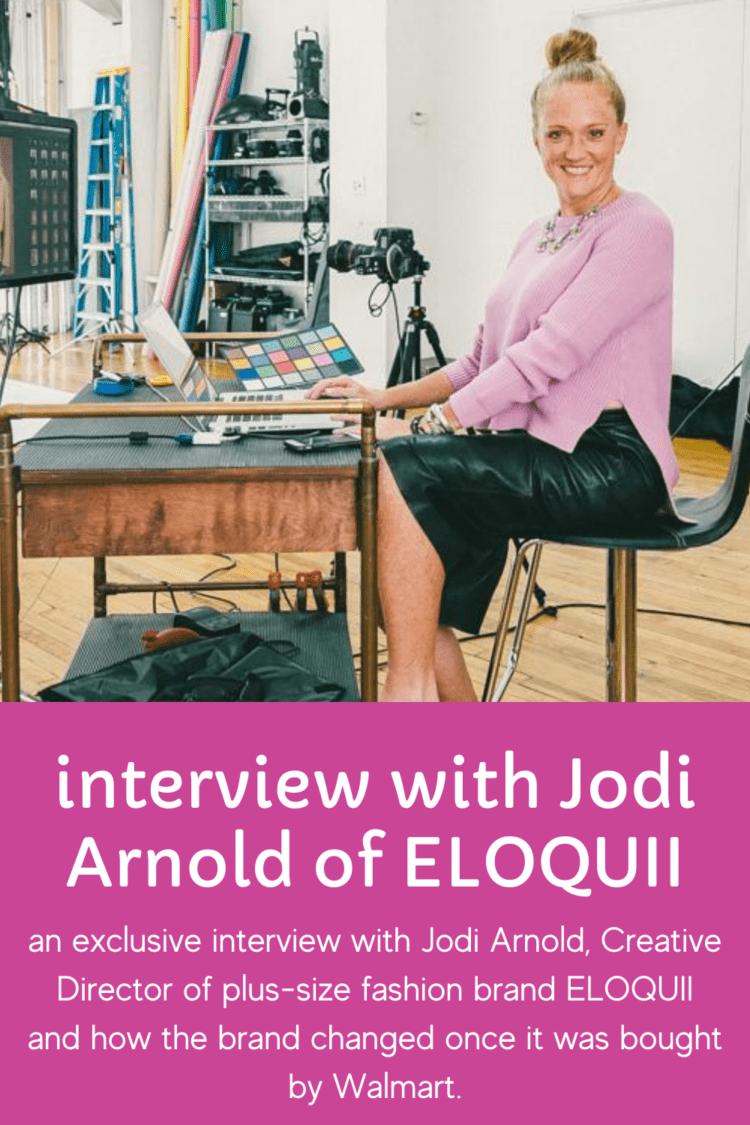 interview with Jodi Arnold ELOQUII Creative Director