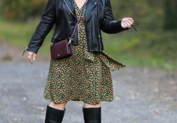 What I Wore: A Petite Leather Moto Jacket
