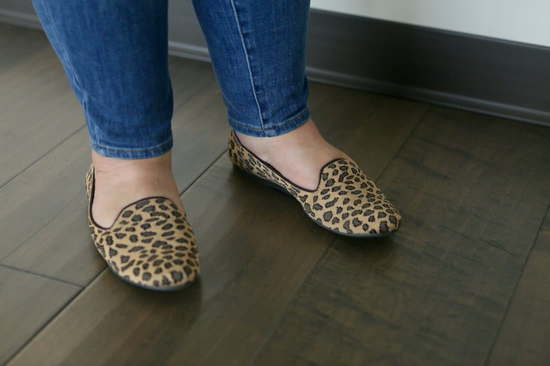 rothys leopard loafers review