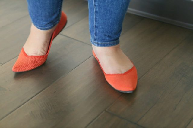 rothys points flats review