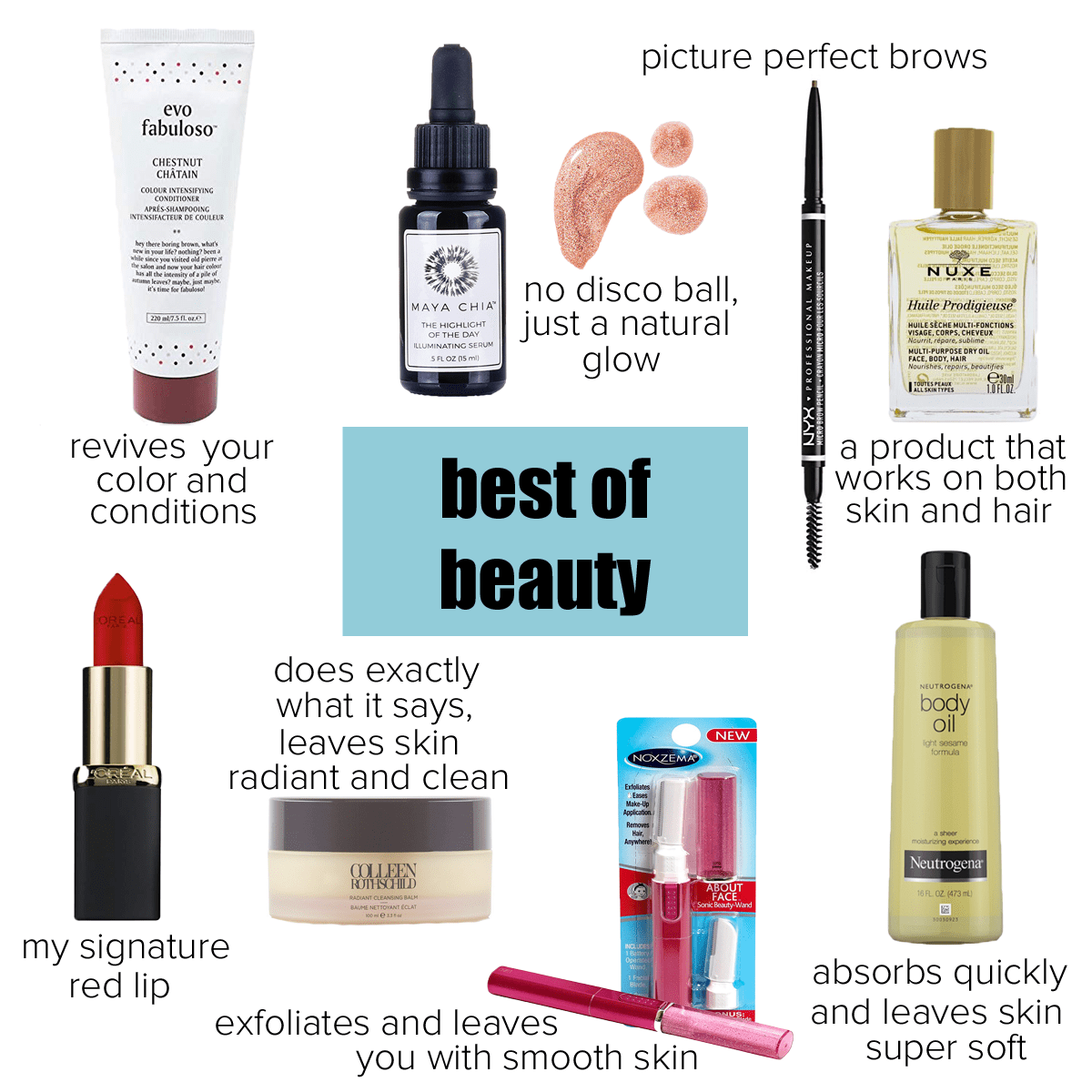 Alison's Favorite Things of 2018: The best of beauty