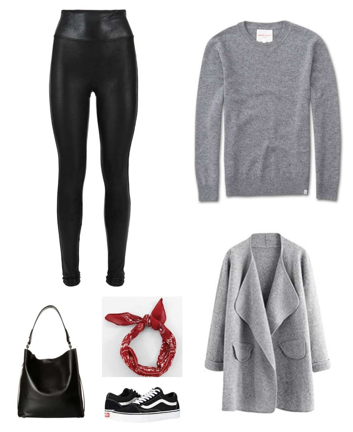tips on styling leather leggings