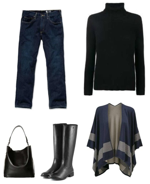 casual capsule wardrobe for fall