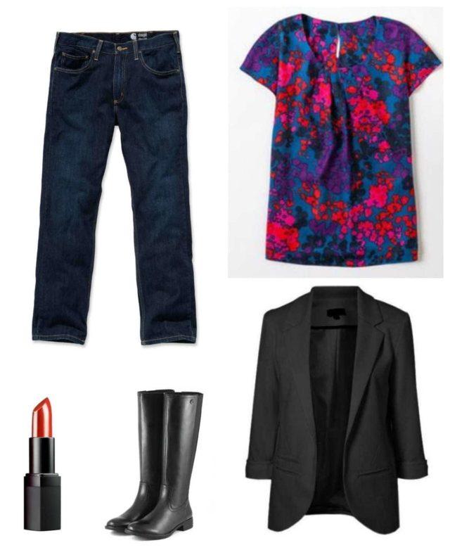 business casual capsule wardrobe