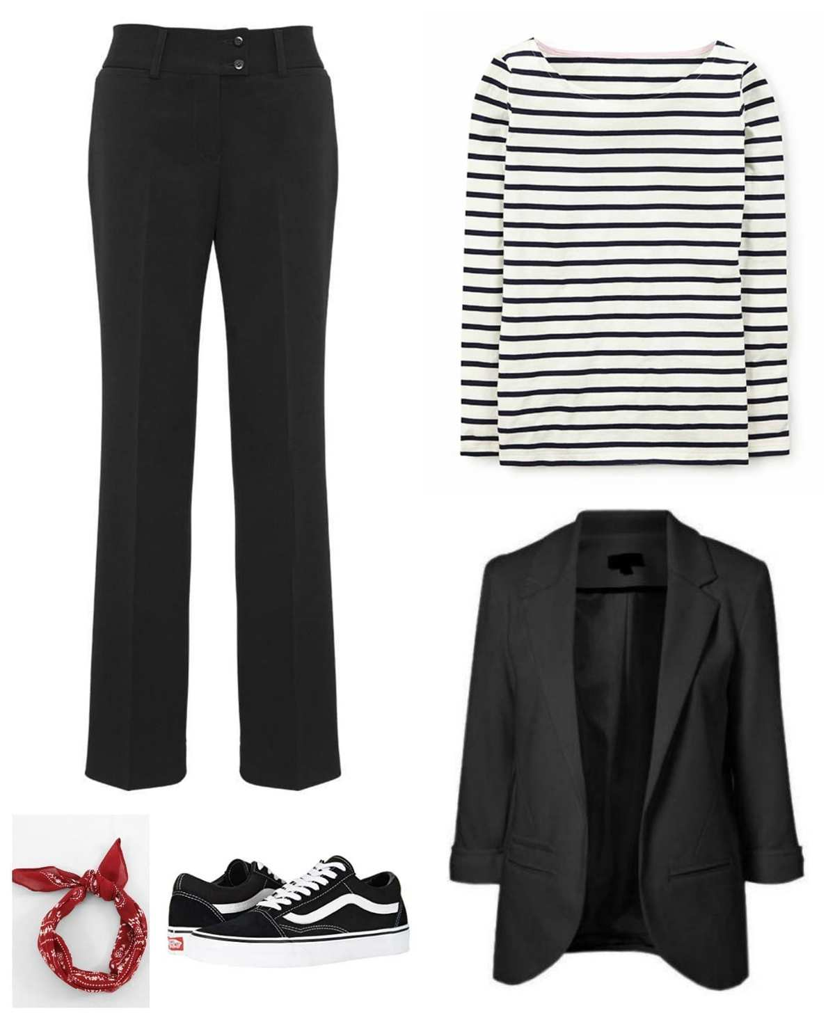 sporty casual capsule wardrobe