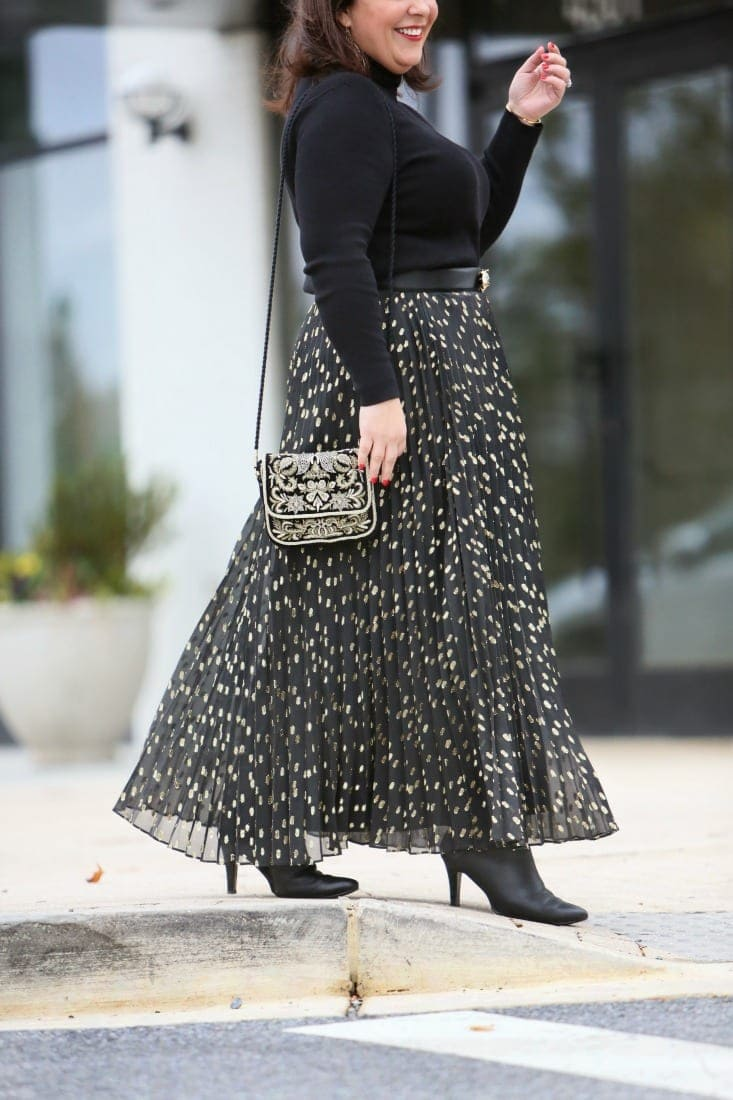 chicos maxi skirt review
