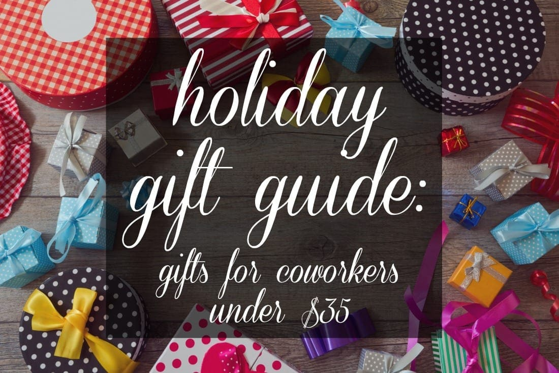Gift Guide: Holiday gifts for coworkers and all are under $35