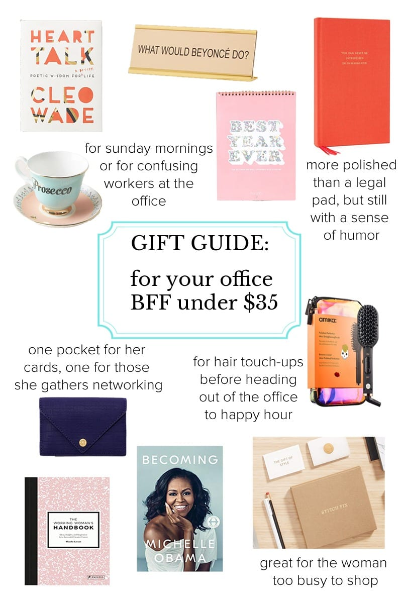 gift guide office coworker under 35