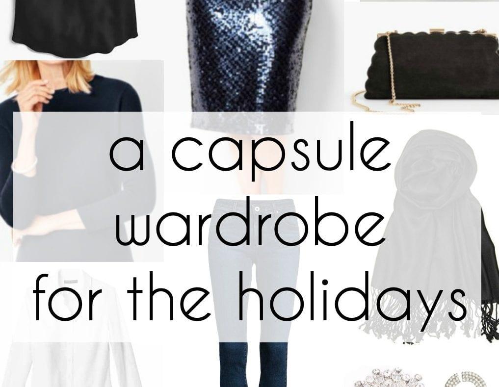 holiday capsule wardrobe fashion plus size