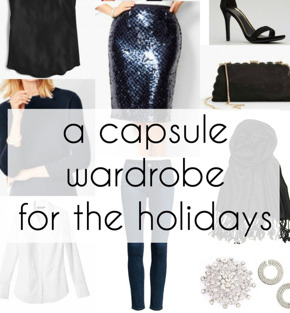 holiday capsule wardrobe fashion plus size