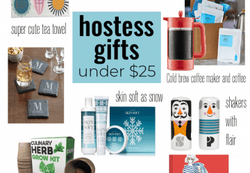 Gift Guide: Hostess Gifts Under $25
