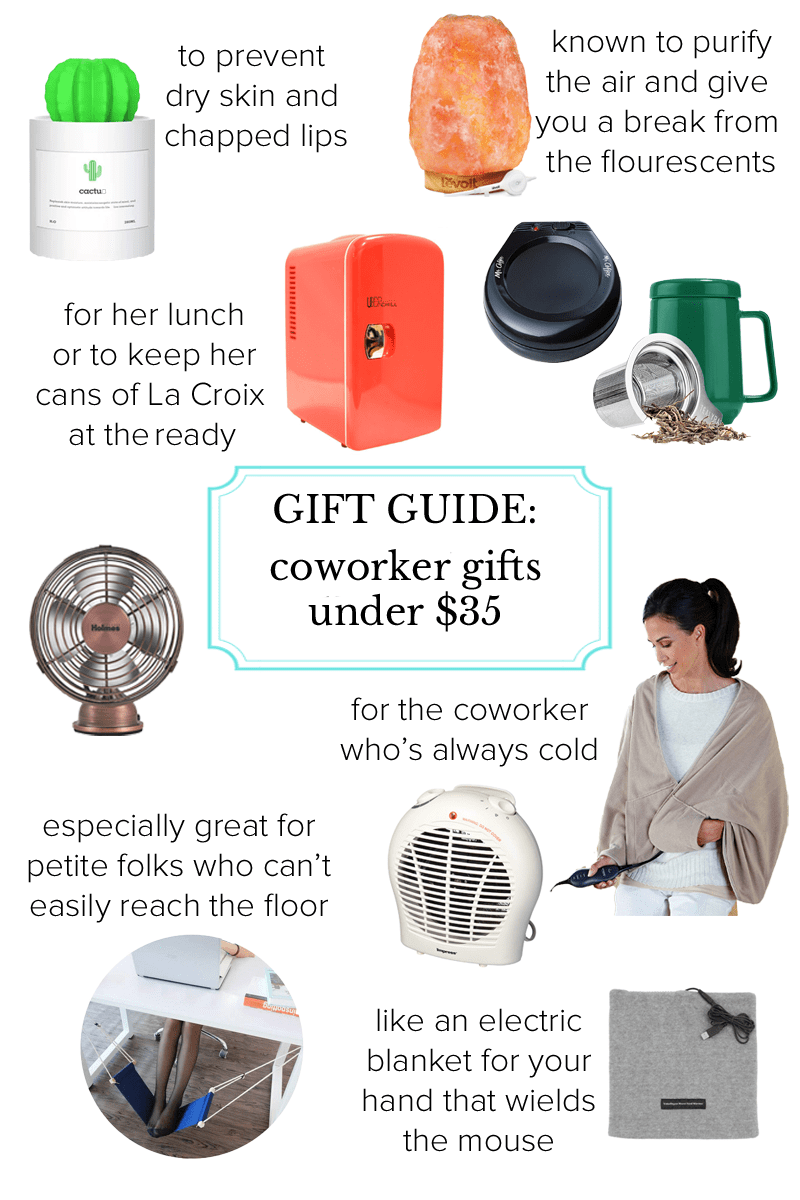 office coworker gift guide under 35