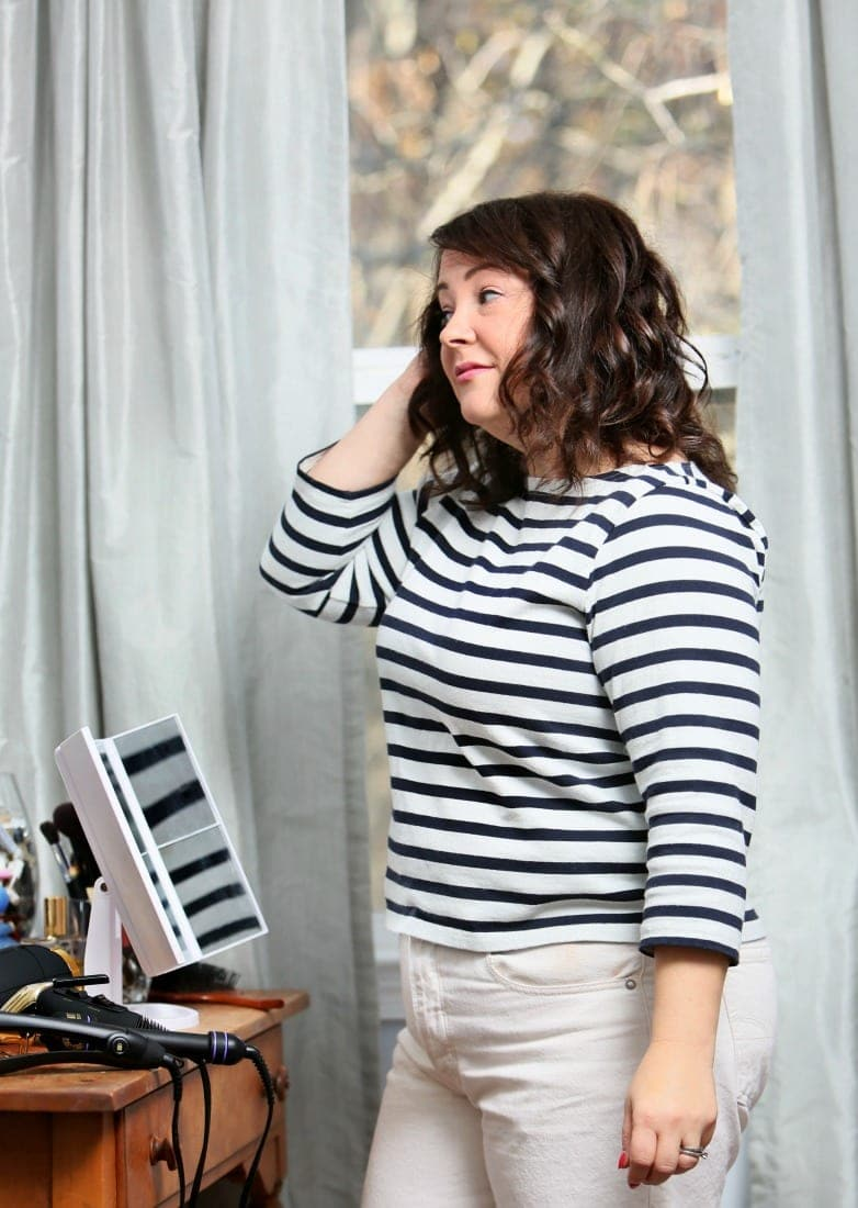 How I Style My Medium Length Wavy Hair Wardrobe Oxygen
