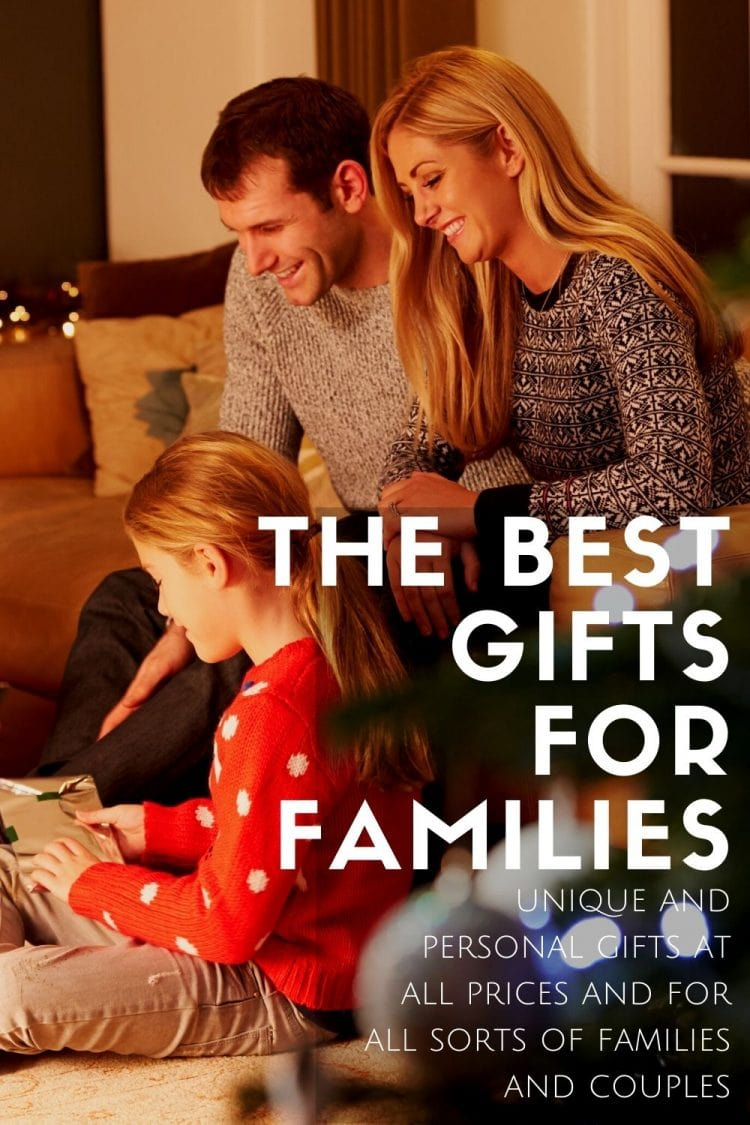 best family gifts gift guide for families