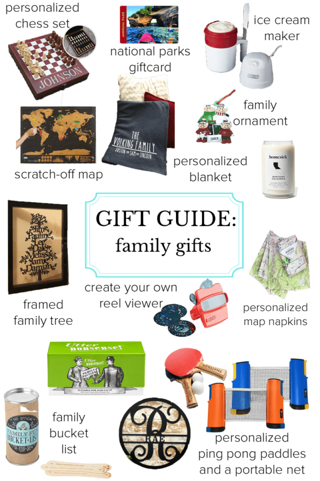family gift guide best gifts for families many under 25