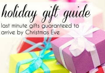 Last Minute Gifts Guaranteed to Arrive Before Christmas Eve