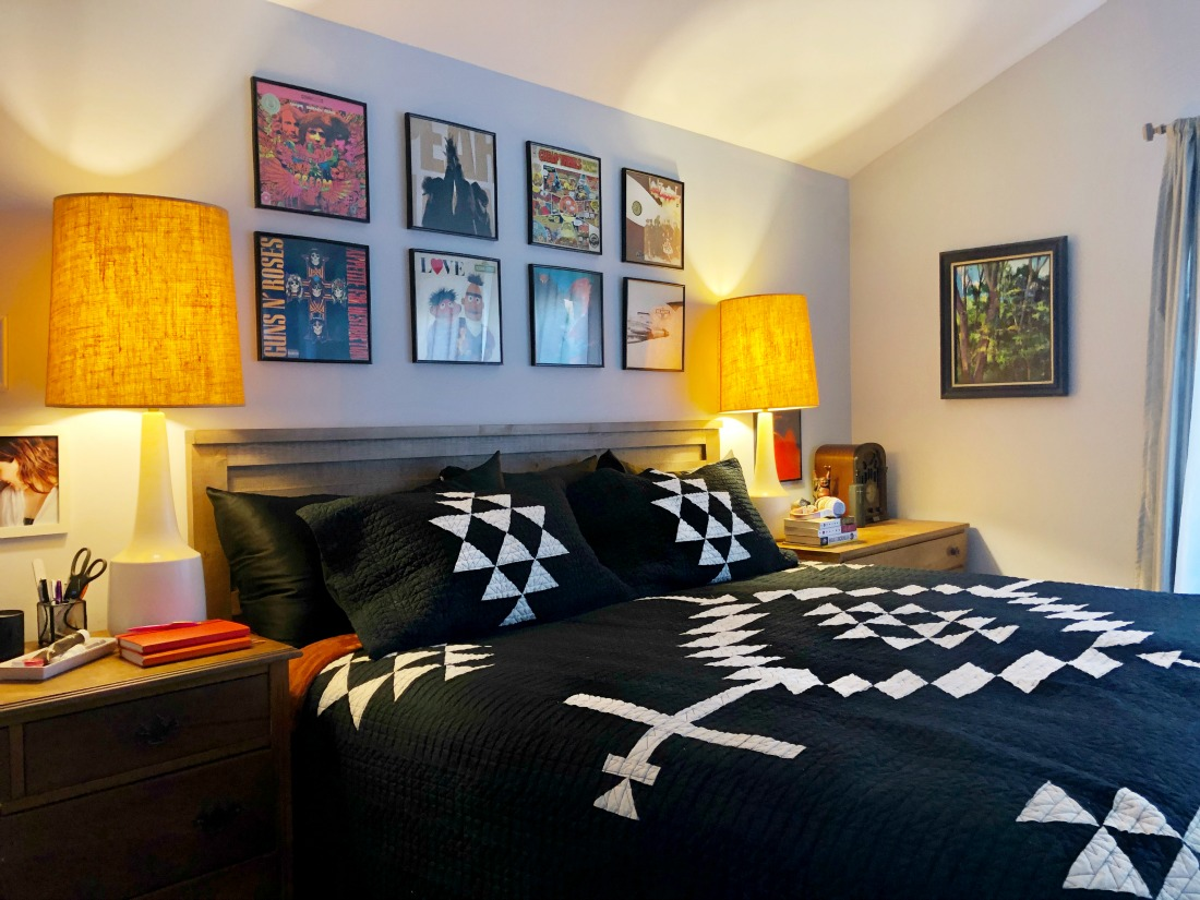 pendleton los ojos quilt in the bedroom of Wardrobe Oxygen
