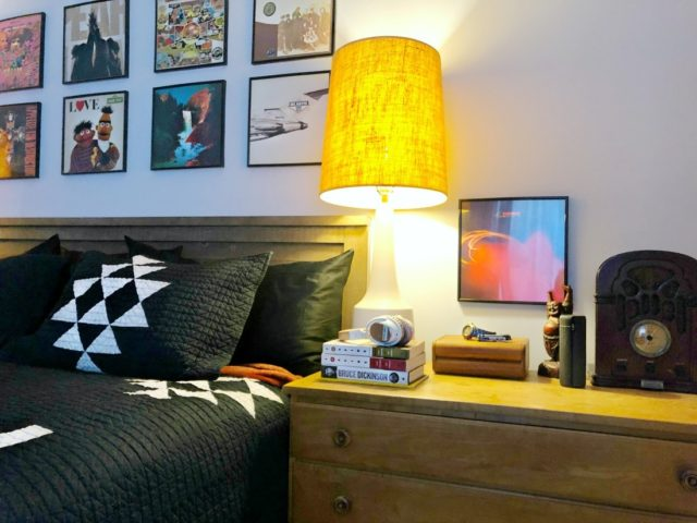 using records for home decor