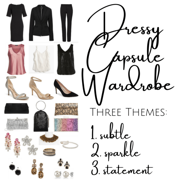 How to build a dressy capsule wardrobe