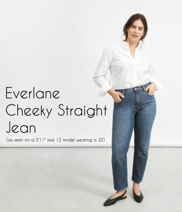 Everlane Cheeky Straight Jean Honest Review